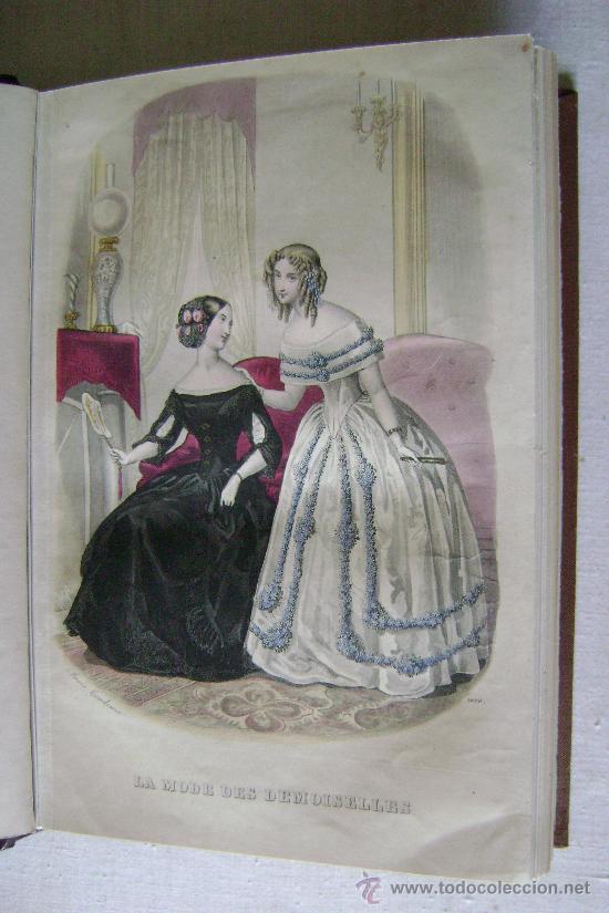 Libros antiguos: LA MODE DES DEMOISELLES.PARIS.1845-49.REFª226 - Foto 9 - 35395495