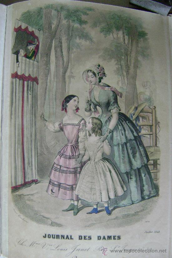 Libros antiguos: LA MODE DES DEMOISELLES.PARIS.1845-49.REFª226 - Foto 10 - 35395495