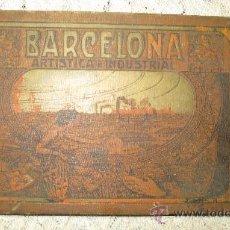 Libros antiguos: BARCELONA ARTISTICA E INDUSTRIAL-ÁLBUM DE FOTOGRAFÍAS-RESUMEN HISTÓRICO DE LA CIUDAD-AÑO 1913. Lote 35395524