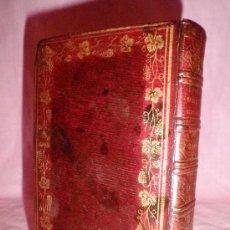 Libros antiguos: LIBRO DE HORAS DE LA REINA BLANCA DE CASTILLA - AÑO 1816 - LUJOSA EDICION EN PIEL · BELLOS GRABADOS.. Lote 35418170