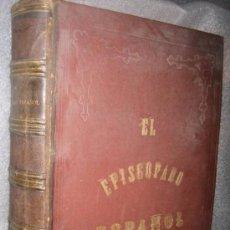 Libros antiguos: SALVADÓ : EL EPISCOPADO ESPAÑOL (TASSO, 1877) OBRA MONUMENTAL. Lote 35452906