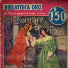 Libros antiguos: RAFAEL SABATINI : EL HOMBRE DE PAJA (ORO MOLINO ROJA, 1934). Lote 35553266
