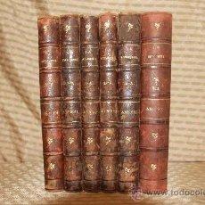 Libros antiguos: 2399- LA RENAIXENSA. REVISTA CATALANA. VV.AA. LITERATURA, REFRANS, POESIES 6 TOMOS . Lote 35564141