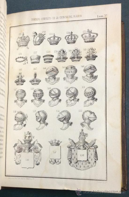 Libros antiguos: TRATADO COMPLETO DE LA CIENCIA DEL BLASÓN, CODIGO HERALDICO-HISTORICO. 1856. 1a. edicion - Foto 5 - 35641073
