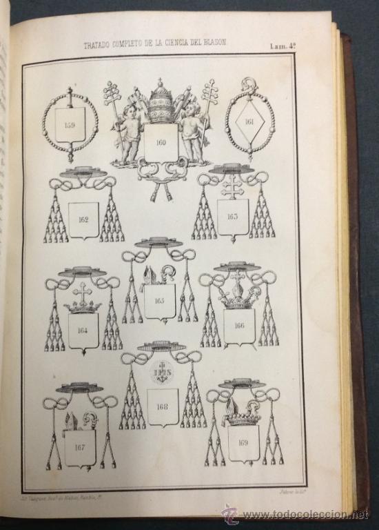 Libros antiguos: TRATADO COMPLETO DE LA CIENCIA DEL BLASÓN, CODIGO HERALDICO-HISTORICO. 1856. 1a. edicion - Foto 4 - 35641073