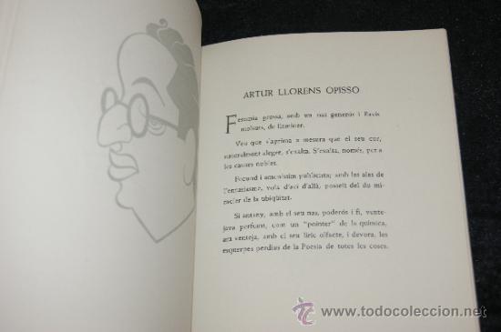 Libros antiguos: Libro numerado 25/300. Siluetes epigramatiques, volum II. Catalan. 1952. - Foto 4 - 35668701