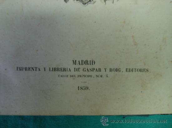 Libros antiguos: Ejército español.Guerra de Africa por Pedro Antonio de Alarcon y ilustrado por Gaspar y Roig 1859 - Foto 3 - 35732060