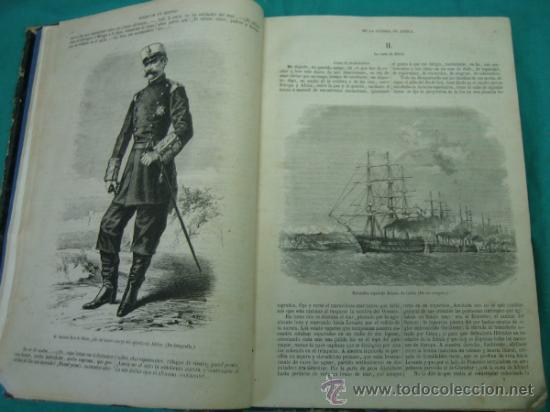 Libros antiguos: Ejército español.Guerra de Africa por Pedro Antonio de Alarcon y ilustrado por Gaspar y Roig 1859 - Foto 6 - 35732060