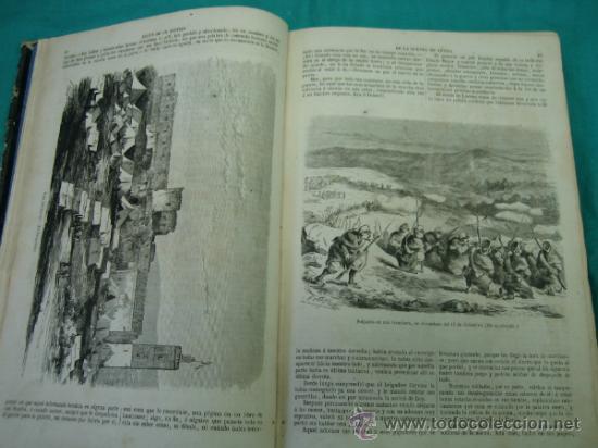 Libros antiguos: Ejército español.Guerra de Africa por Pedro Antonio de Alarcon y ilustrado por Gaspar y Roig 1859 - Foto 7 - 35732060