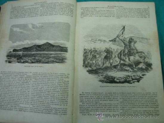 Libros antiguos: Ejército español.Guerra de Africa por Pedro Antonio de Alarcon y ilustrado por Gaspar y Roig 1859 - Foto 8 - 35732060