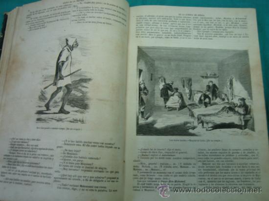 Libros antiguos: Ejército español.Guerra de Africa por Pedro Antonio de Alarcon y ilustrado por Gaspar y Roig 1859 - Foto 9 - 35732060