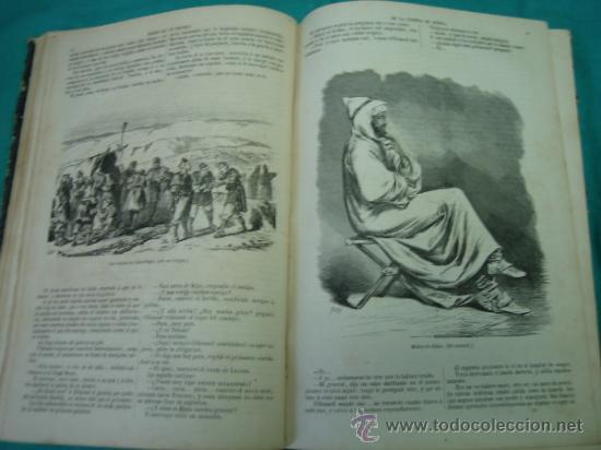 Libros antiguos: Ejército español.Guerra de Africa por Pedro Antonio de Alarcon y ilustrado por Gaspar y Roig 1859 - Foto 10 - 35732060