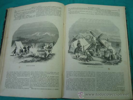 Libros antiguos: Ejército español.Guerra de Africa por Pedro Antonio de Alarcon y ilustrado por Gaspar y Roig 1859 - Foto 11 - 35732060
