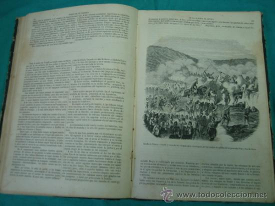 Libros antiguos: Ejército español.Guerra de Africa por Pedro Antonio de Alarcon y ilustrado por Gaspar y Roig 1859 - Foto 12 - 35732060