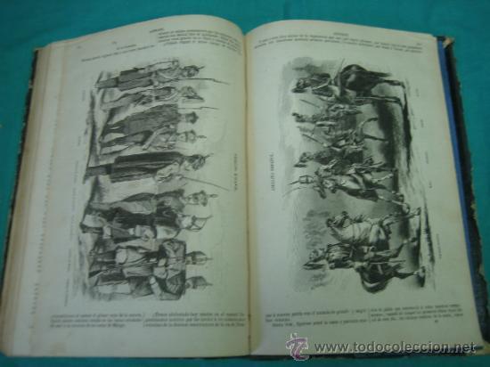Libros antiguos: Ejército español.Guerra de Africa por Pedro Antonio de Alarcon y ilustrado por Gaspar y Roig 1859 - Foto 15 - 35732060