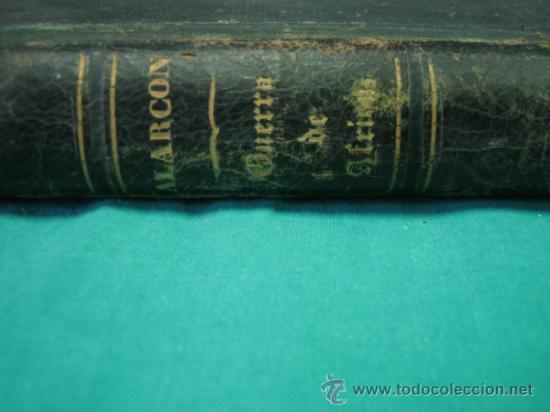 Libros antiguos: Ejército español.Guerra de Africa por Pedro Antonio de Alarcon y ilustrado por Gaspar y Roig 1859 - Foto 18 - 35732060