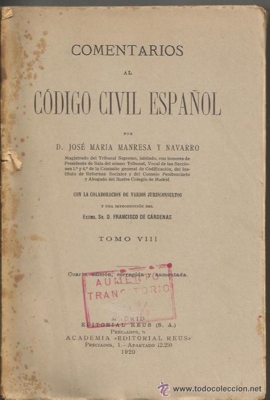 Lm61 - Comentarios Al Codigo Civil Espa U00f1ol