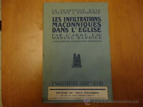 AÑO 1910 LA TRADITION RELIGIESE & NATIONALE, LIBRO DE RELIGION 254 PAGINAS (Libros Antiguos, Raros y Curiosos - Otros Idiomas)