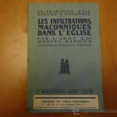Libros antiguos: AÑO 1910 LA TRADITION RELIGIESE & NATIONALE, LIBRO DE RELIGION 254 PAGINAS. Lote 35764789