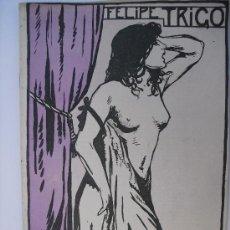 Libros antiguos: EL NAUFRAGO. TRIGO, FELIPE. Lote 35790531