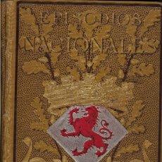 Libros antiguos: EPISODIOS NACIONALES. TOMOS I, II Y IV POR B.PEREZ GALDÓS. 1ª EDICIÓN ILUSTRADA. 1882. Lote 35793362
