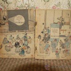 Libros antiguos: 2513- FABLES CHOISIES DE FLORIAN. P. CLARIS. EDIT. MARPON & FLAMMARION. 1896. 2 TOMOS.. Lote 35807781