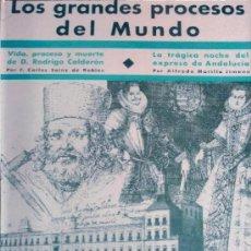 Libros antiguos: LOS GRANDES PROCESOS DE LA HISTORIA. (EDS. POPULARES IBERIA, 1932) . Lote 35825386