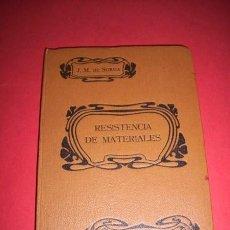Alte Bücher - SOROA, José María de. Nociones de resistencia de materiales : (...) - 35976490
