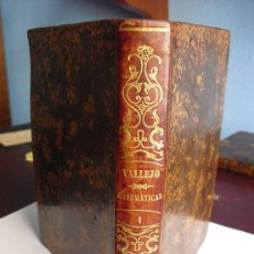 Libros antiguos: 1855 COMPENDIO DE MATEMATICAS PURAS Y MISTAS (SIC) JOSE MARIANO VALLEJO. Lote 35915664
