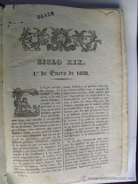 Libros antiguos: 1837 SIGLO XIX - Foto 2 - 35918178