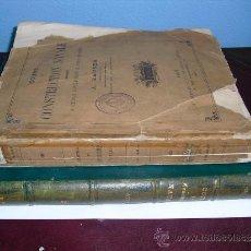 Libros antiguos: 1886 COURS DE CONSTRUCTION NAVALE A.HAUSER DOS TOMOS ( TEXTO Y ATLAS). Lote 35972452