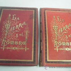 Libros antiguos: LA TIERRA Y EL HOMBRE - FEDERICO HELLWALD - OBRA EN 2 TOMOS - AÑO 1887. Lote 35988494