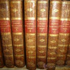 Libros antiguos: CAUSES CELEBRES, POLITIQUES, CRIMINELLES, 8TMS, PARIS LANGLOIS FILS ET C, 1827. Lote 36006307
