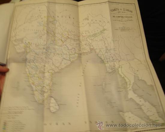 Libros antiguos: HISTOIRE DE L´EMPIRE ANGLAIS DANS L´INDE, BARCHOU DE PENHOËN, 6TMS, PARIS, LIB. DE LADRANGE 1840 - Foto 9 - 36005975