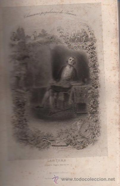 Libros antiguos: DUMERSAN ET NOËL SÉGUR, CHANSONS NATIONALES ET POPULAIRES DE FRANCE, PARIS, DE GARNIER FRERES 1866 - Foto 9 - 36041040