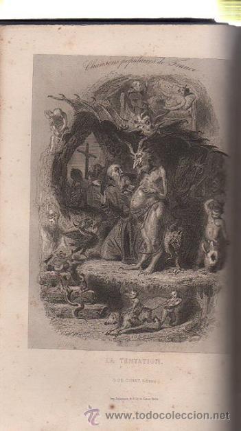 Libros antiguos: DUMERSAN ET NOËL SÉGUR, CHANSONS NATIONALES ET POPULAIRES DE FRANCE, PARIS, DE GARNIER FRERES 1866 - Foto 6 - 36041040