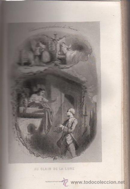 Libros antiguos: DUMERSAN ET NOËL SÉGUR, CHANSONS NATIONALES ET POPULAIRES DE FRANCE, PARIS, DE GARNIER FRERES 1866 - Foto 7 - 36041040