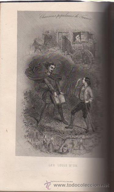 Libros antiguos: DUMERSAN ET NOËL SÉGUR, CHANSONS NATIONALES ET POPULAIRES DE FRANCE, PARIS, DE GARNIER FRERES 1866 - Foto 5 - 36041040