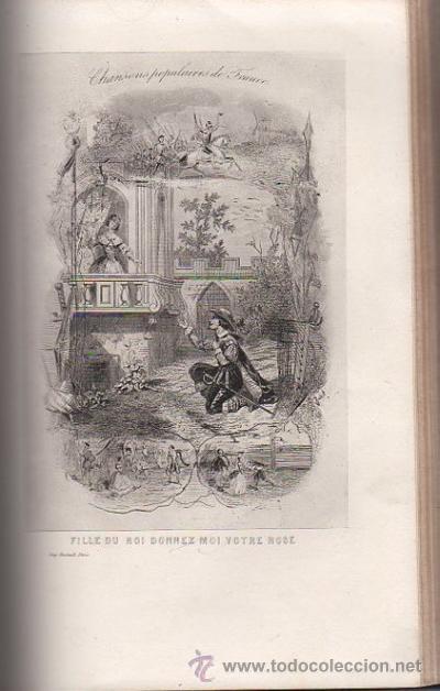 Libros antiguos: DUMERSAN ET NOËL SÉGUR, CHANSONS NATIONALES ET POPULAIRES DE FRANCE, PARIS, DE GARNIER FRERES 1866 - Foto 3 - 36041040