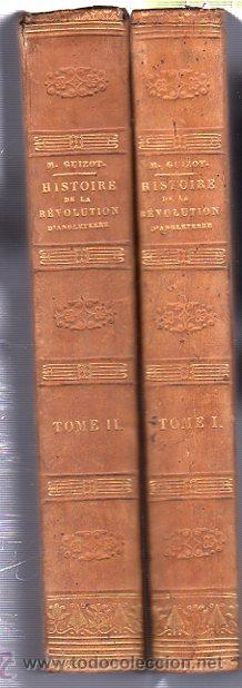 Libros antiguos: HISTOIRE DE LA REVOLUTION D´ANGLETERRE, GUIZOT, 2 TMS, DIDIER, PARIS 1841 - Foto 2 - 36039300