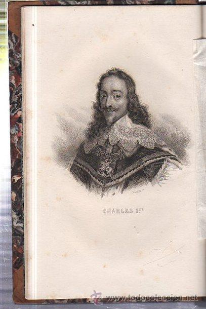 Libros antiguos: HISTOIRE DE LA REVOLUTION D´ANGLETERRE, GUIZOT, 2 TMS, DIDIER, PARIS 1841 - Foto 4 - 36039300