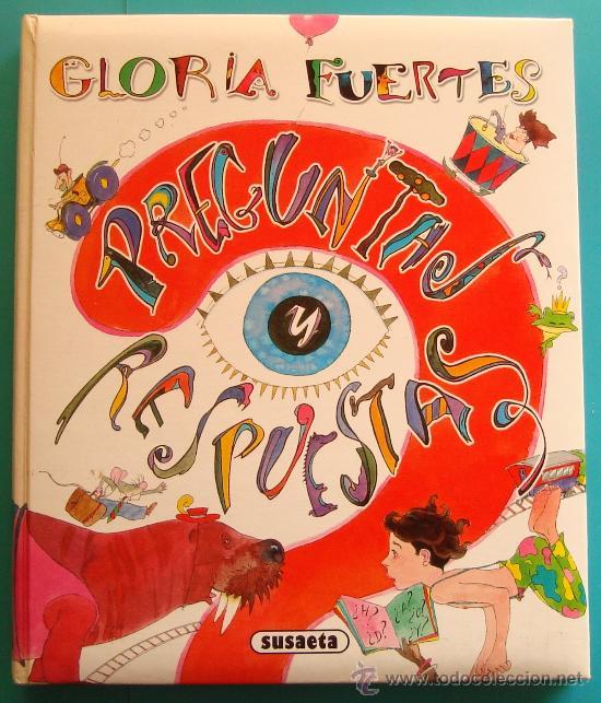 DIVERTIDO LIBRO DE PREGUNTAS Y RESPUESTAS DE GLORIA FUERTES, EDICIONES SUSAETA (Libros Antiguos, Raros y Curiosos - Literatura Infantil y Juvenil - Otros)