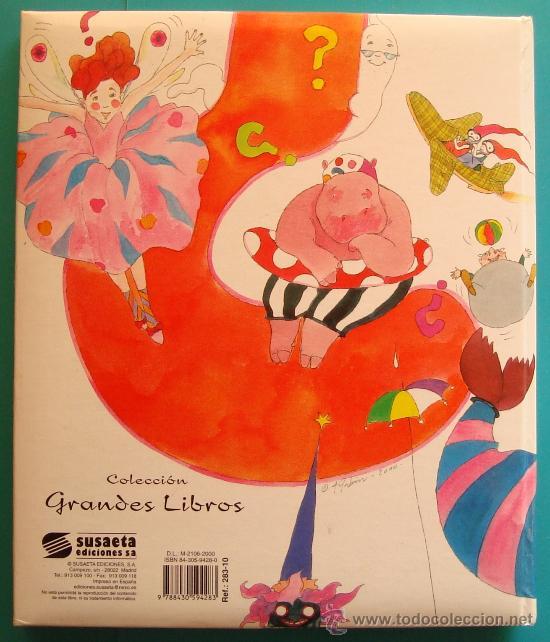 Libros antiguos: divertido libro de PREGUNTAS Y RESPUESTAS de GLORIA FUERTES, EDICIONES SUSAETA - Foto 2 - 36038829