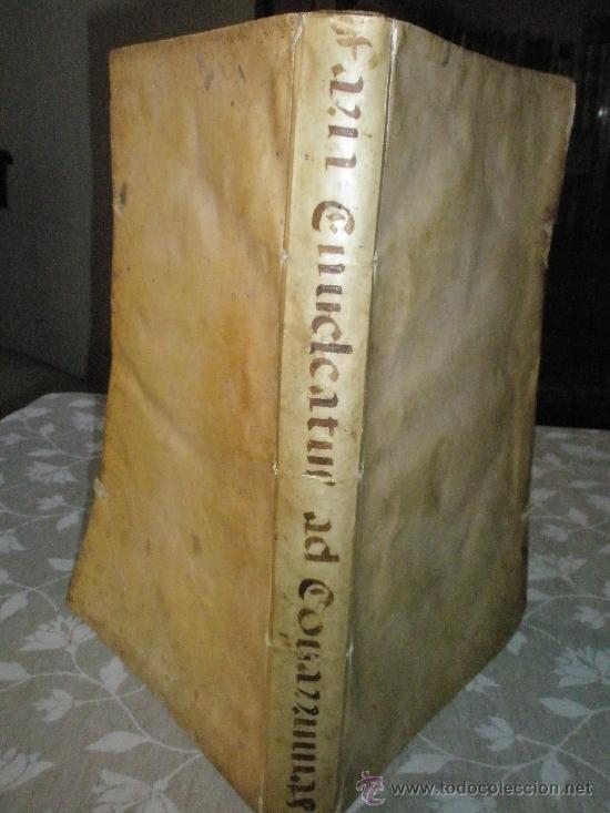 Libros antiguos: ENUCLEATUS ET AUCTUS PRACTICIS IN QUAESTIONIBUS PER DIDACUM YBAÑEZ DE FARIA GADITANUM PRAEPOTENTIS C - Foto 7 - 36039630