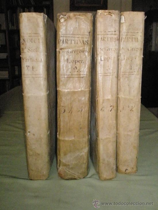 Libros antiguos: Las Siete Partidas del sabio Rey Don Alonso en Nono glosadas por el licenciado Gregorio López - Foto 10 - 36040843