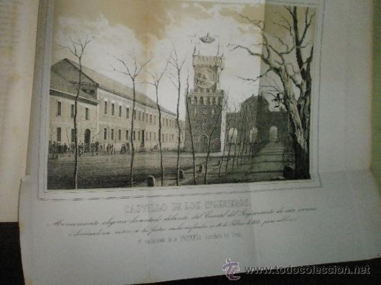 Libros antiguos: Memorial de Ingenieros (1852, Tomo VII): Memorias, artículos y noticias interesantes al arte de la - Foto 10 - 36123453