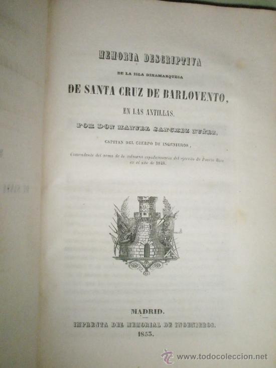 Libros antiguos: Memorial de Ingenieros (1853, Tomo VIII): Memorias, artículos y noticias interesantes al arte de la - Foto 6 - 36123564