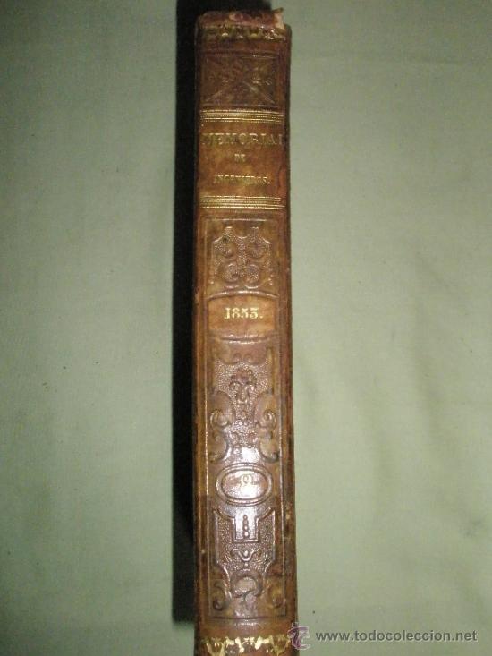Libros antiguos: Memorial de Ingenieros (1853, Tomo VIII): Memorias, artículos y noticias interesantes al arte de la - Foto 11 - 36123564
