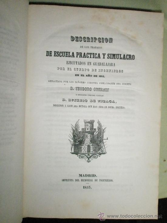 MEMORIAL DE INGENIEROS (1853, TOMO VIII): MEMORIAS, ARTÍCULOS Y NOTICIAS INTERESANTES AL ARTE DE LA (Libros Antiguos, Raros y Curiosos - Historia - Otros)