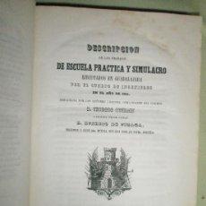 Libros antiguos: MEMORIAL DE INGENIEROS (1853, TOMO VIII): MEMORIAS, ARTÍCULOS Y NOTICIAS INTERESANTES AL ARTE DE LA . Lote 36123564